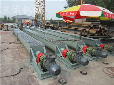 LS400 U type screw conveyer